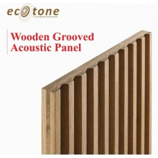 Ecotone Wooden Grooved Acoustic Panel 18mm 8*4 6-2