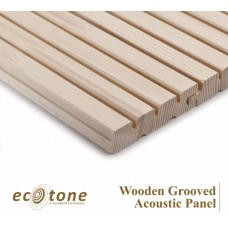 Ecotone Wooden Grooved Acoustic Panel 18mm 8*4 9-2