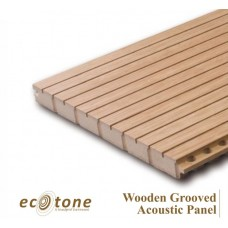 Ecotone Wooden Grooved Acoustic Panel 18mm 8*4 16-2