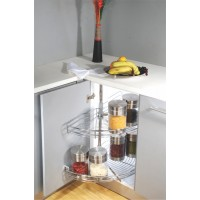 INOX Carousel Unit 180° Stainless A1.01.101