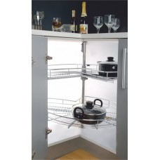 INOX Carousel Unit 270° Stainless A2.01.201