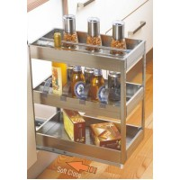 INOX Satin Silent Pull Out Organizers S5.02.101
