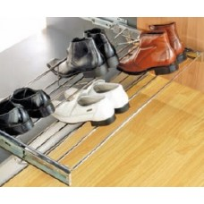 INOX Adjustable Shoe Rack Pull Out 14.01.101