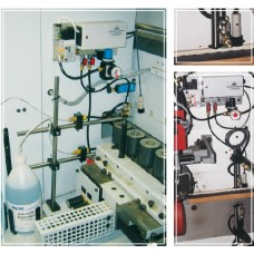 RIEPE Electronically controlled antistatic-coolant spraying unit