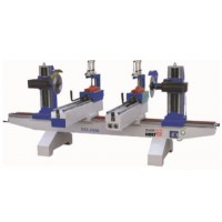 WOODTECH Double End Saw 2.2m Two Clamping DES-243B