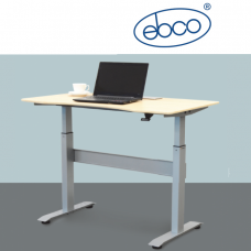 EBCO Smart Lift Table Legs - Gas Lift (without Table Top)