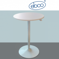 EBCO Smart Lift Single Leg - Gas Lift (with Table Top) - Round