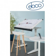 EBCO Smart Lift Drawing Table - Gas Lift (With Table Top)