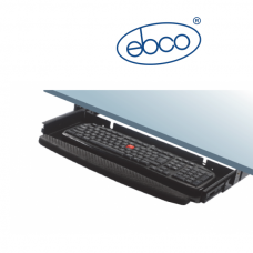 EBCO Computer Keyboard Tray Full Extension - Soft Pad - Without