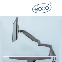 EBCO Computer Monitor Arm - Single Extended Arm Edge