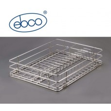 Ebco Right Angle Basket - Cup & Saucer