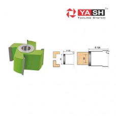 Yash Planing Cutter T.C.T. with Helix Shear YT 6 101