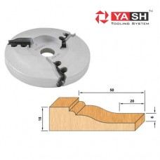 Yash Raised Panel Cutter Head Replaceable YT 16 101